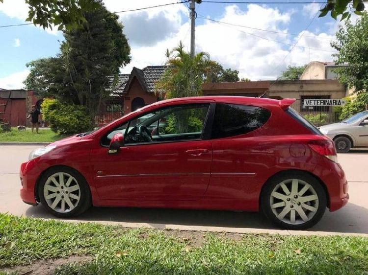 Peugeot 207 GTi 2011 IMPECABLE (Preparado) SOLO PARA