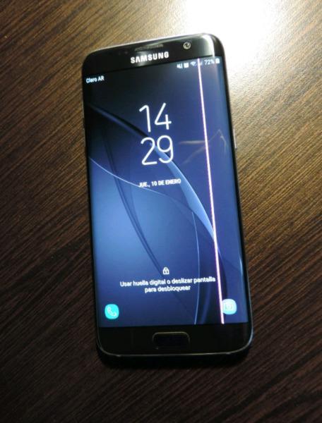 Samsung s7 edge (linea rosa)