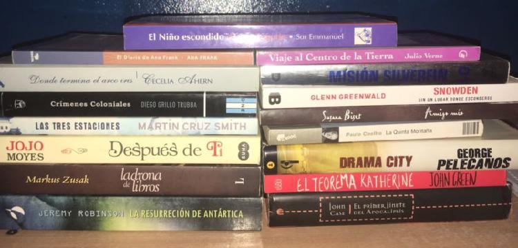 Vendo libros -Excelente estado