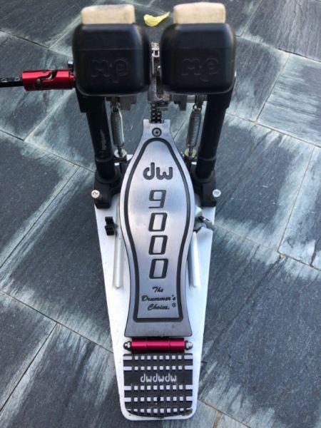 Doble pedal dw 9002 excelente estado
