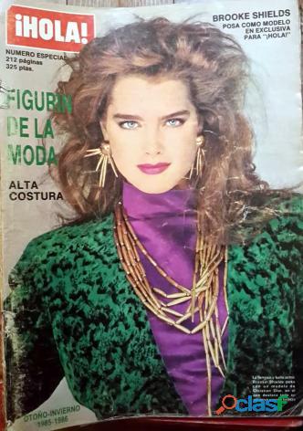 Revistas hola españolas década 80