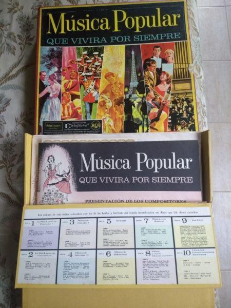 Album lp musica popular