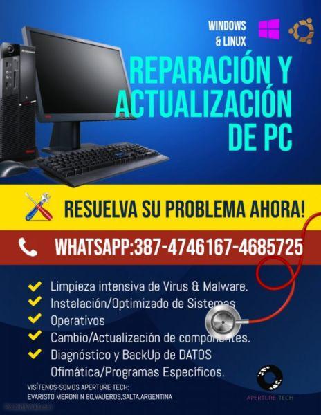 Servicio técnico de reparación de pc-aperture tech