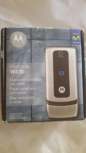 Vendo celular motorola w375 nuevo en caja