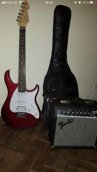 Vendo guitarra eléctrica y amplificador