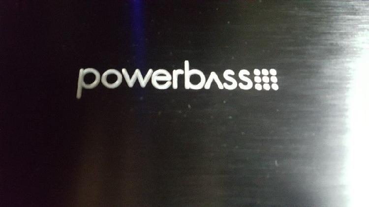 Amplificador potencia powerbass 800.2x asa unica u.s.a.