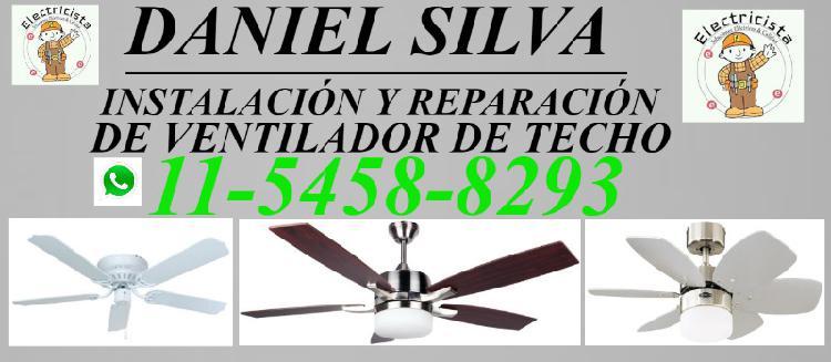 Instalaciòn y reparaciòn de ventilador de techo zona