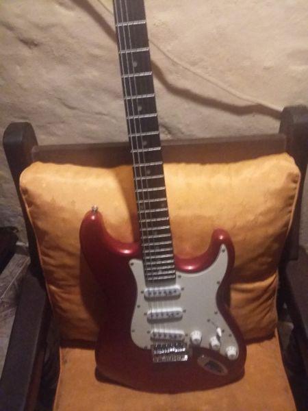 Guitarra field 3 usos c/accesorios