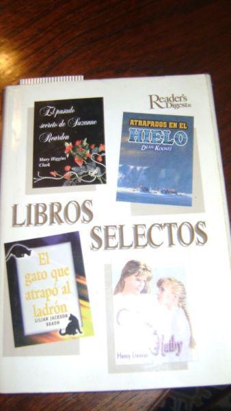Libros selectos readers digest 4 en uno serie 26.14