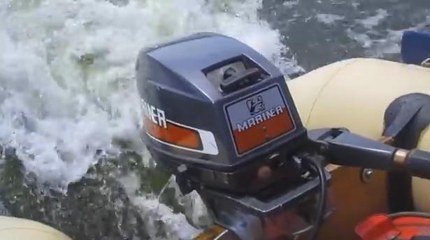 Motor mercury mariner 15 hp. 2 t / pata corta