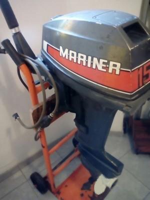 Motor mercury mariner 15 hp. pura potencia