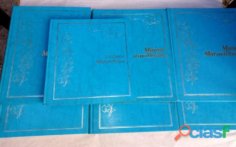 Manualidades manos maravillosas colección completa 7 tomos