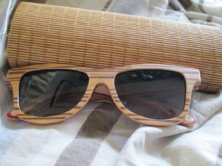 84ca9b4d5e Anteojos/gafas de sol emolly, polarizados marco madera en Argentina ...