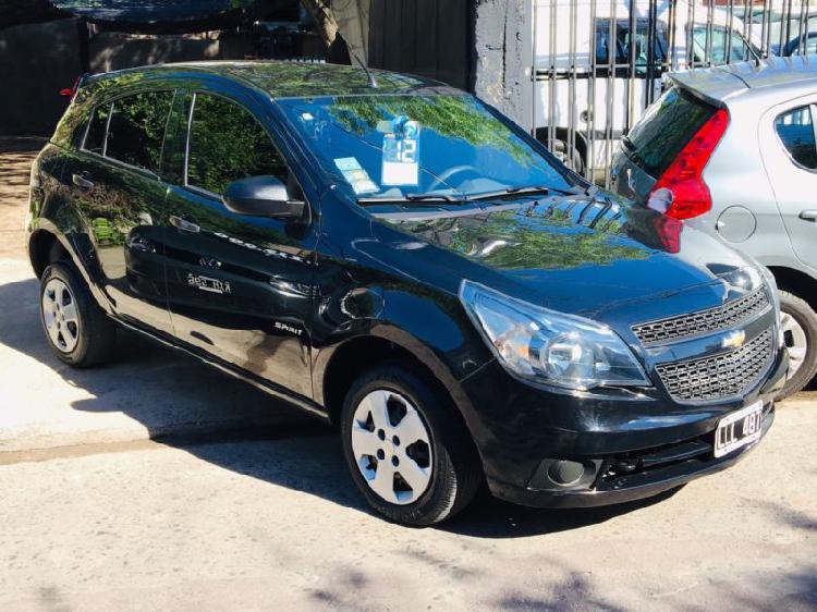 Chevrolet agile 1.4 ls agregados 2012 antic $142.500.- y
