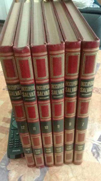 Enciclopedia salvat retro. 6 tomos. año 1978