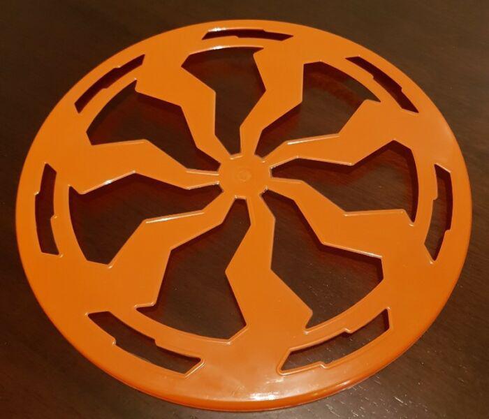 Nuevo frisbee plastico grande juego playa al aire libre