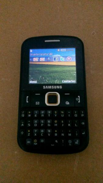Samsung ch@t gt-e2220 libre impecable