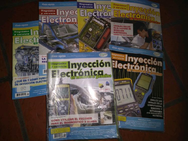 Vendo revistas de curso de inyeccion electronica