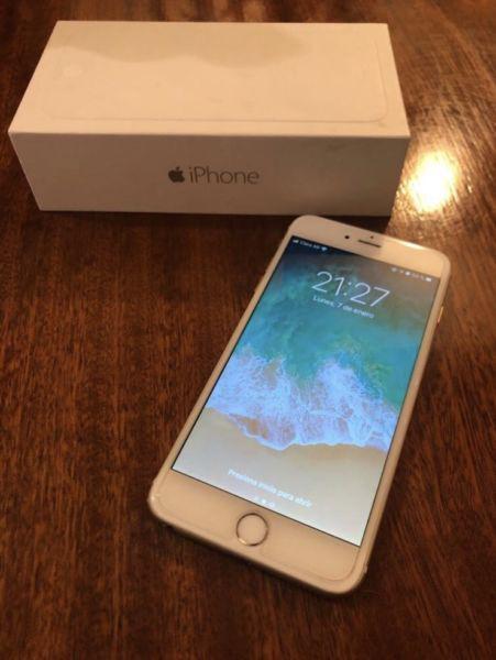 Iphone 6 plus 16 gb en excelente estado con cinco fundas