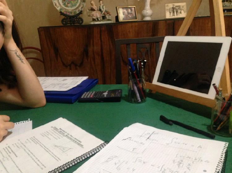 Matemática, física y química, clases particulares