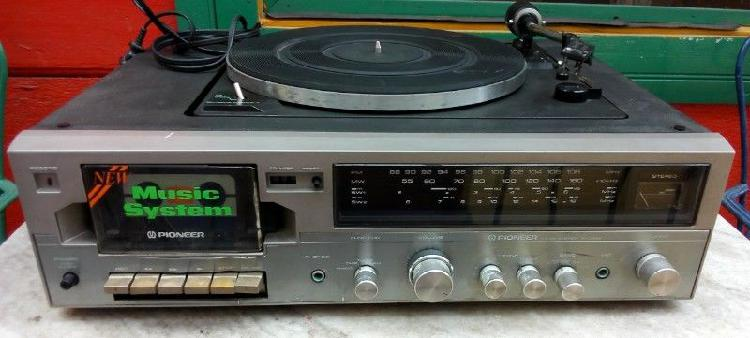 Pioneer music system kh-3355, funciona, reparar o repuesto