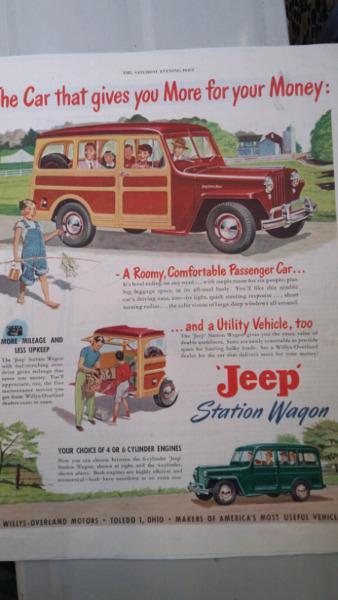 West palm beach * antiguas publicidades autos