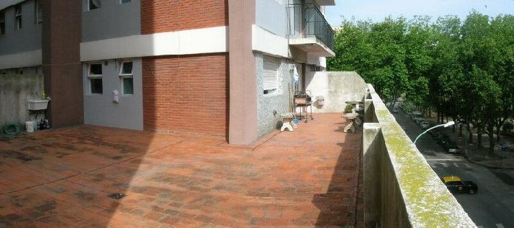 Dueño alquila mar del plata- depto 2 amb terraza centro/ la