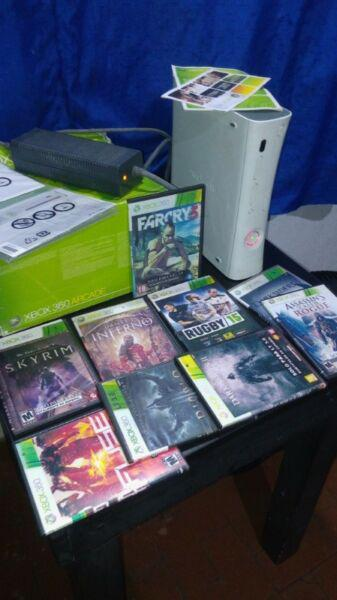 X box 360 para reparar con accesorios y juegos todo a $ 1600
