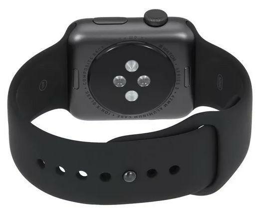 Apple watch series 3 42mm space gray caja de aluminio