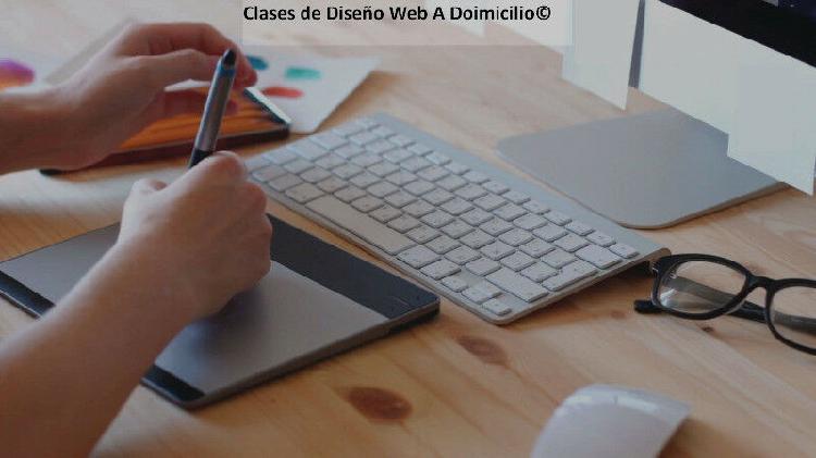 Clases de diseño de sitios web - a domicilio