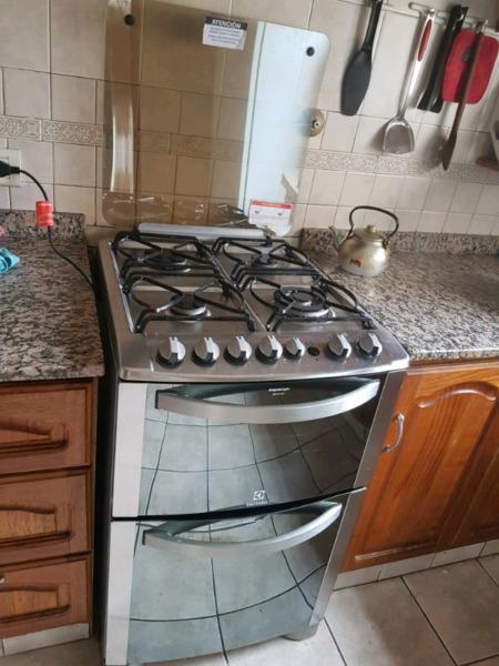 Cocina electrolux doble horno