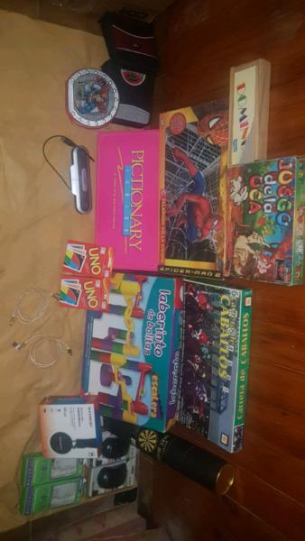Juegos de mesa y electrónica