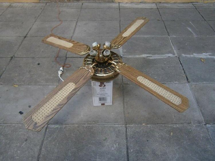 Ventilador de techo -- no da vueltas