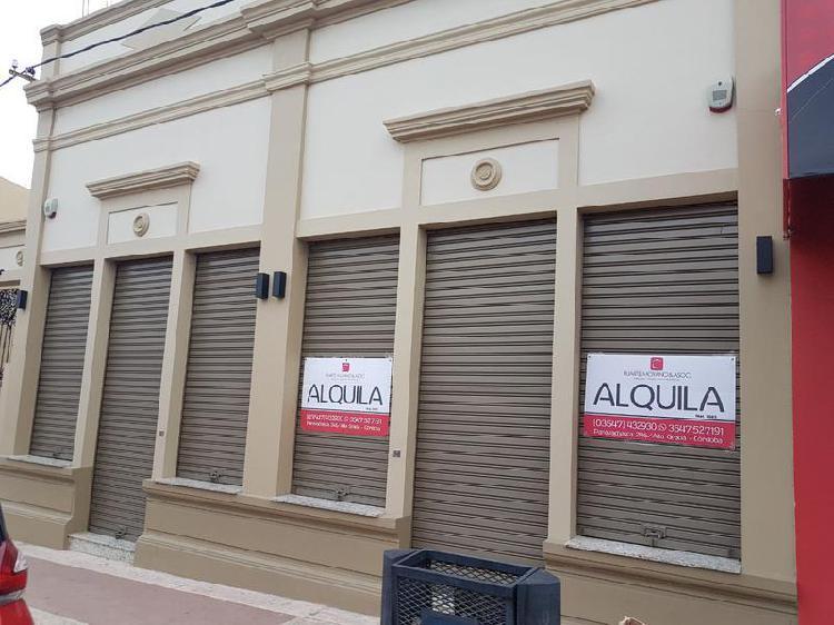 Locales comerciales españa al 300 alta gracia centro