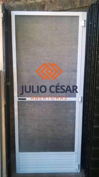 Puerta mosquitero 0.80x2.00 malla aluminio