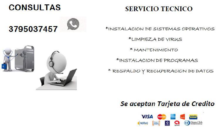 Servicios informaticos en corrientes capital