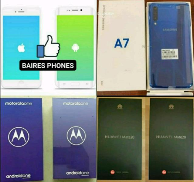 Venta de celulares originales,nuevos y libres,a precios