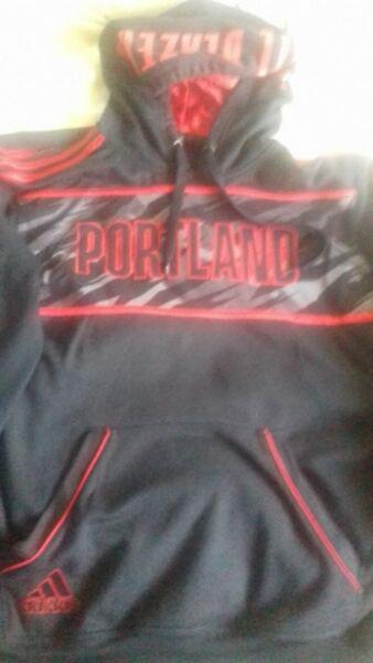 Buzo nba portland trail blazers adidas original traído de