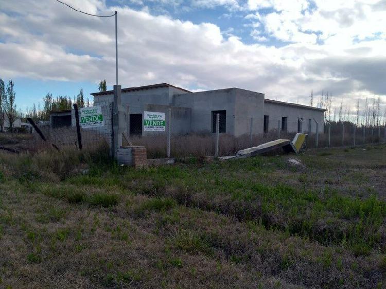 Casa a terminar en barrio abierto residencial quintas del