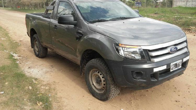 Ford ranger xl safety 2.2tdi cabina simple 4x2 2015 con