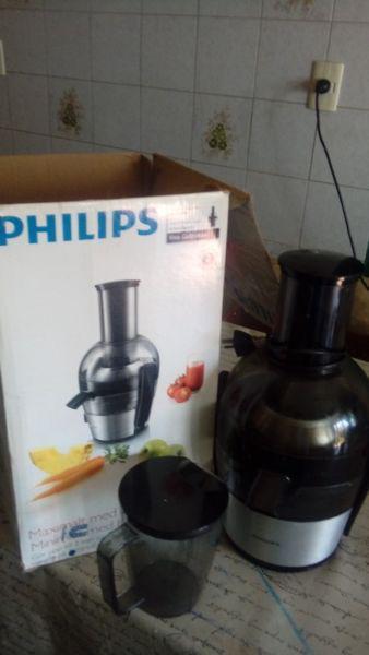 Juguera philips viva collection hr1863/20 700 w nueva