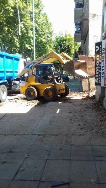 Limpieza de terrenos demoliciones poda tala extracciones de