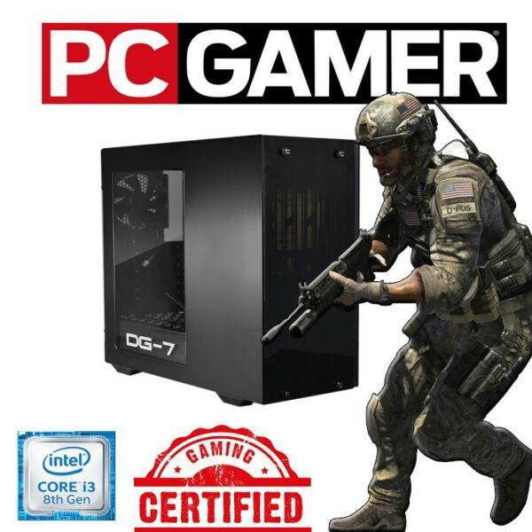Pc gamers intel i3 8100 / 8gb ram / 1tb h310 / 1050ti 4gb