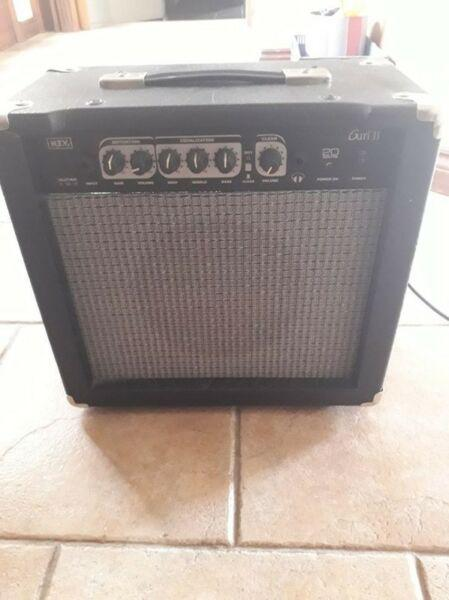 Amplificador de guitarra ntv de 20 watts