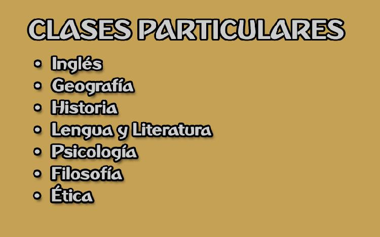Clases particulares | apoyo escolar