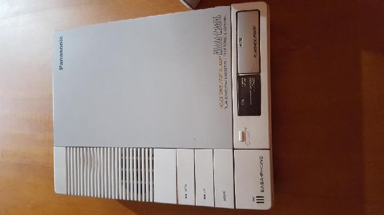 Contestador automatico doble cassette