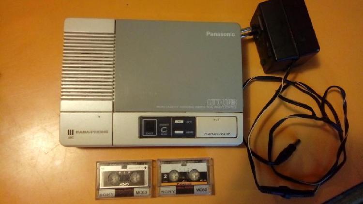 Contestador automático panasonic kxt1000 audio logic easy