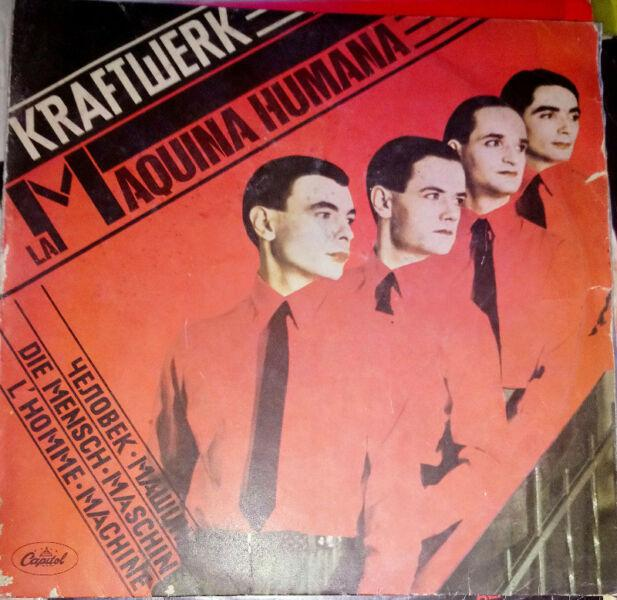Kraftwerk - maquina humana - disco vinilo full