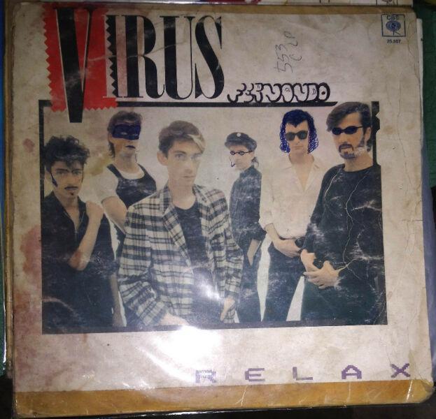 Lote nacional 4 discos de vinilo