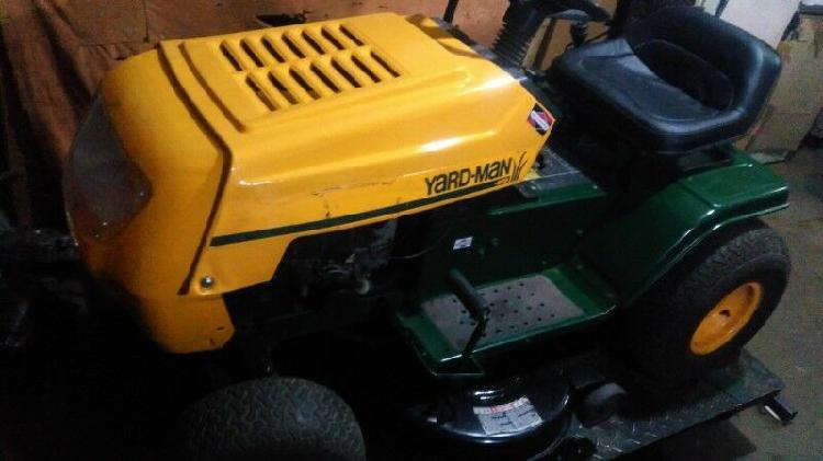 Mini tractor cortacesped pasto tractorcito jardin parque